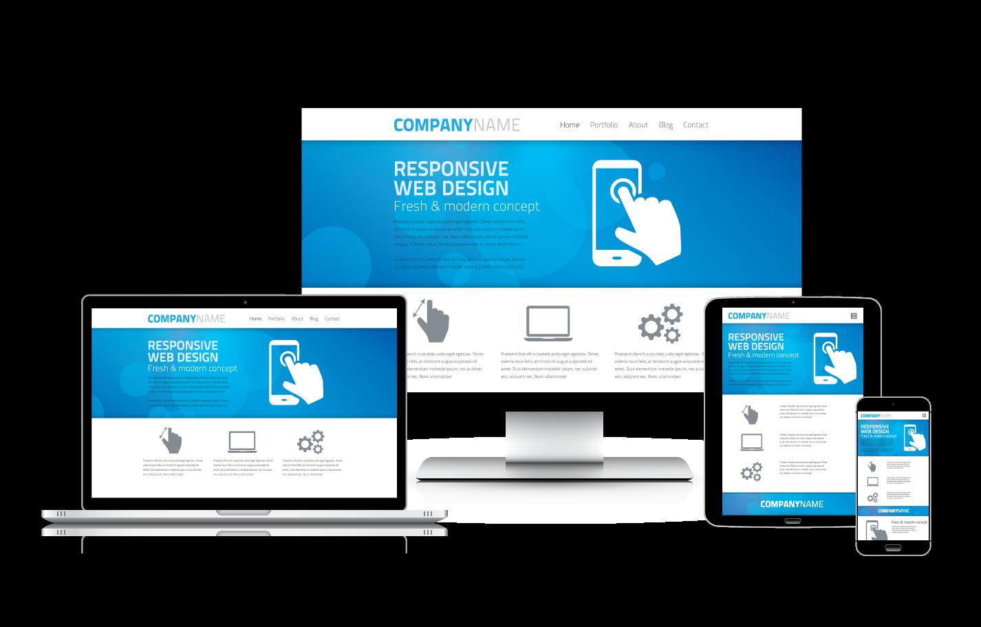 Giới thiệu dịch vụ thiết kế website công ty, nhà hàng, thương mại điện tử