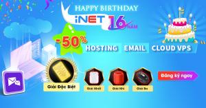 iNET Khuyến mãi hosting vps server tên miền