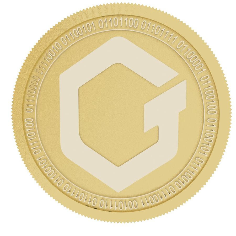 Gatechain Token gold coin 3D Model $9 - .max .unknown - Free3D